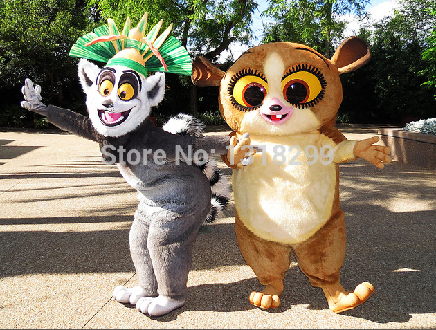mascot   lemur mort mascot costume fancy dress custom fancy costume cosplay theme mascotte carnival