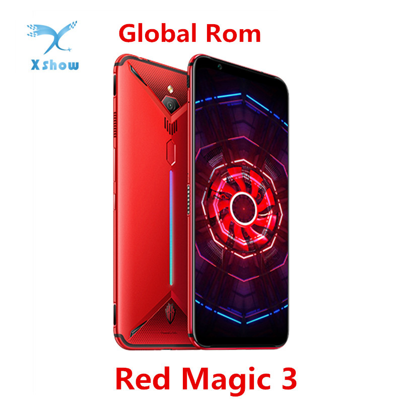 ZTE Nubia Red Magic 3 Mobile phone 6GB 64GB 6 65 inch Snapdragon 855 Fingerprint Front