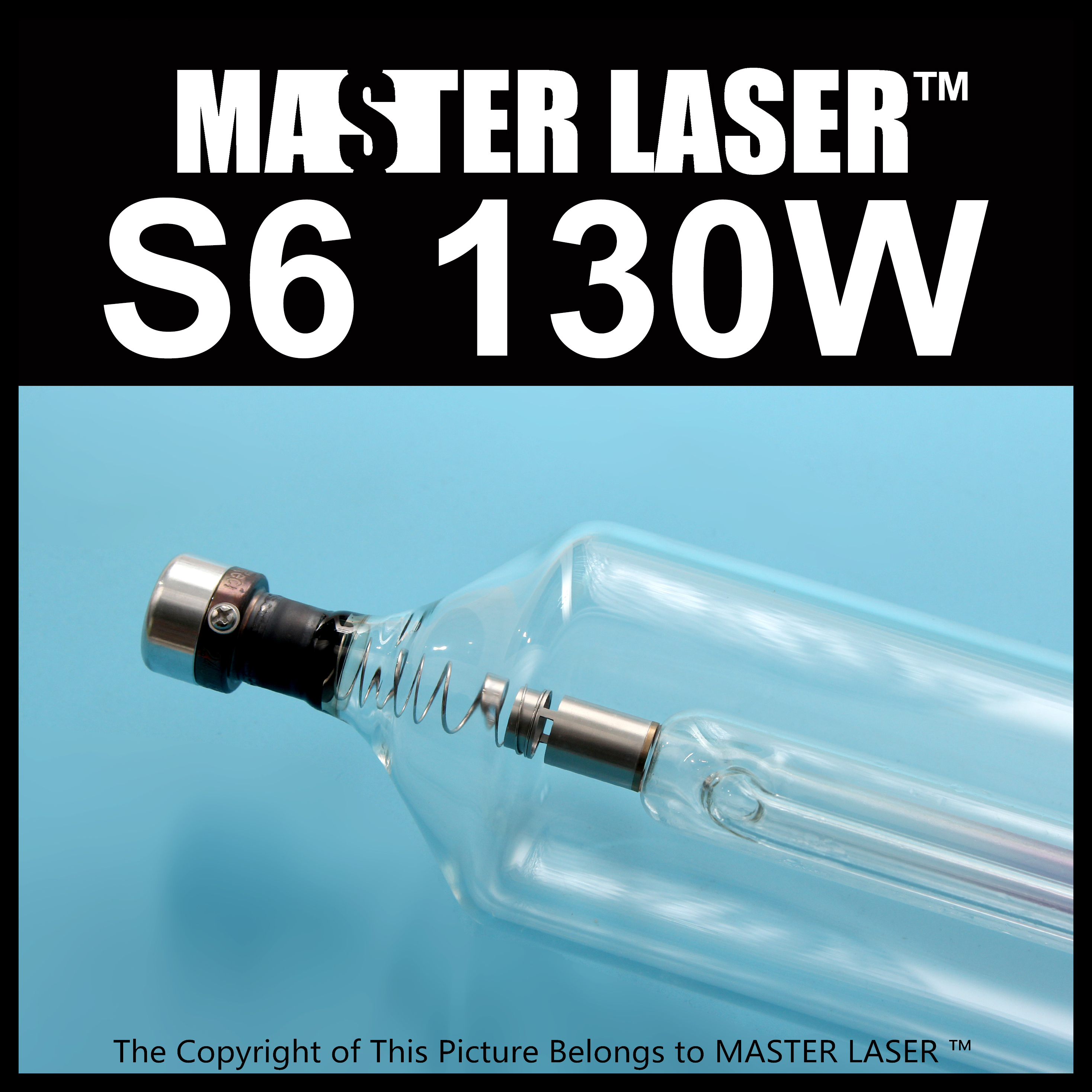 High Power Reci  Laser Tube S6 130W CO2 Laser Machine for Engraving and Cutting reci w4 laser tube co2 100w upgrade z4 glass tube for laser engraving cutting machine