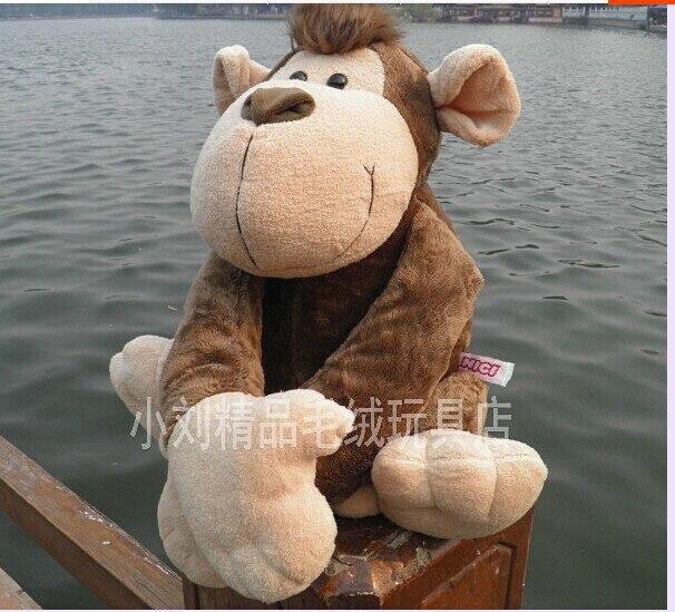 Belle singe jouet simulation orangs-outans poupée bras long singe poupée environ 70 cm