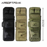 "Nylon 85cm/ 33.5"" Outdoor Rifle Military Hunting Bag Tactical Square Carry Bags Gun Protection Case Backpack Rifle Holster Bags"