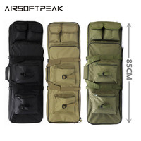 Nylon 85cm/ 33.5 Outdoor Rifle Military Hunting Bag Tactical Square Carry Bags Gun Protection Case Backpack Rifle Holster Bags