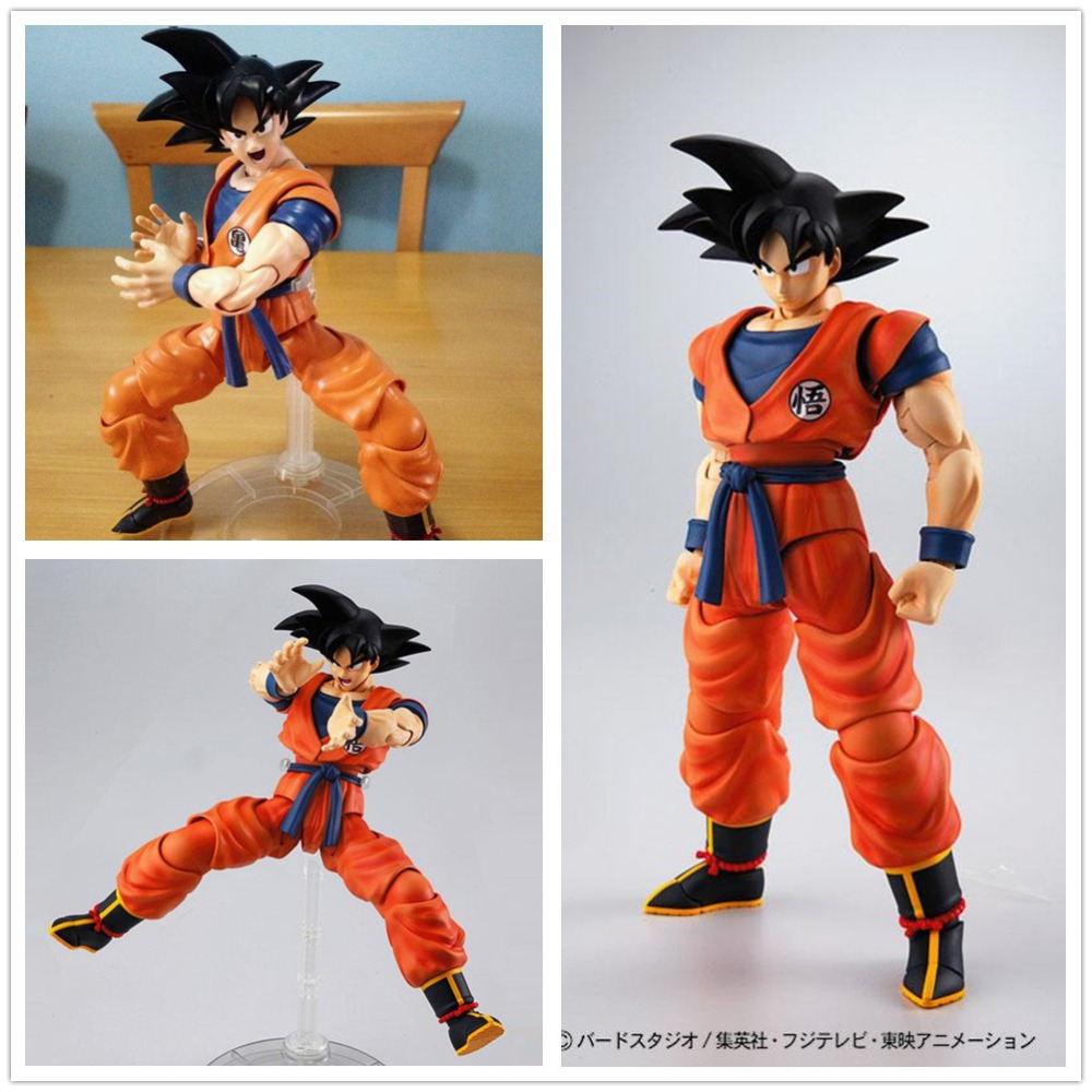 Bandai MG 1/8 FIGURERISE Dragon Ball Saiyan black hair Son Gokou Action Assembled Model NB012Bandai MG 1/8 FIGURERISE Dragon Ball Saiyan black hair Son Gokou Action Assembled Model NB012
