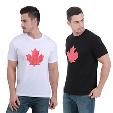 DSQICOND2 New Summer Casual T Shirt for Women Men Tops Tee Maple Leaf Pattern T-shirt with ICON Letter Baseball Cap Snapback Hat