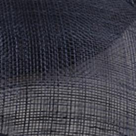 Шляпки из соломки синамей с вуалеткой хорошее Свадебные шляпы высокого качества Клубная кепка очень хорошее ; разные цвета на выбор, для MSF098 - Цвет: Тёмно-синий