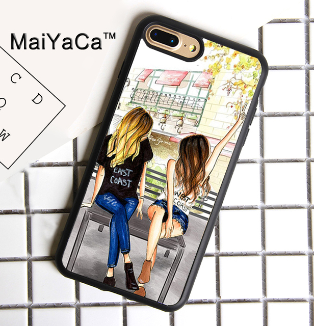 maiyaca best friend bff fashion sexy girl phone case for iphone 7maiyaca best friend bff fashion sexy girl phone case for iphone 7 plus accessories rubber tpu case cover for iphone 7 plus 1 order