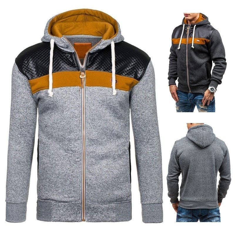 New Men's Fashion Spring Fashion Long Sleeve Hoody