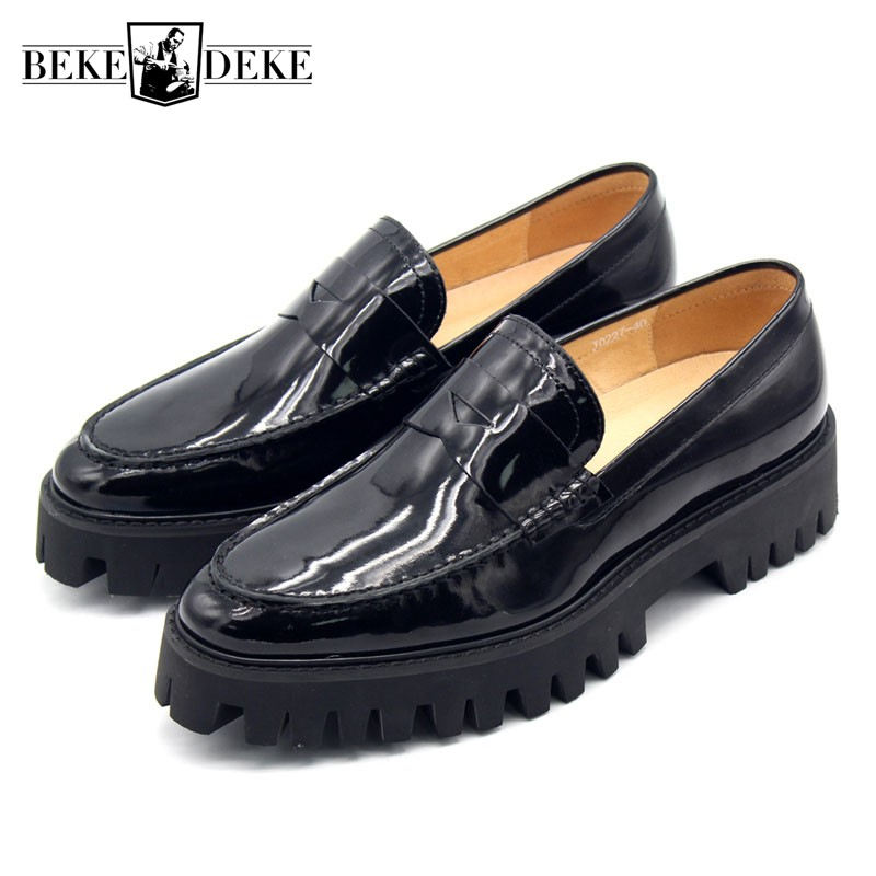 Negócios Mocassin Homme Homens Moda 45 Dos Couro De Size Luxo Para Loafers Escritório Sapatos Real Deslizamento Rasas Plus Formal Em wwZqaf4EW7