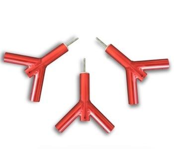La horquilla Y aleación de aluminio de alta resistencia 6061 tienda de campaña toldo accesorios indio multifunción para tienda Bimodal