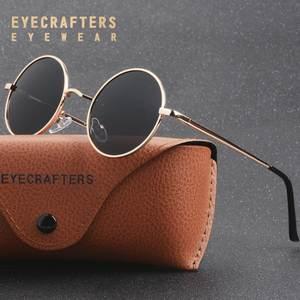 EYECRAFTERS Polarized Men Vintage Retro Glasses Women 12d2a0bc06
