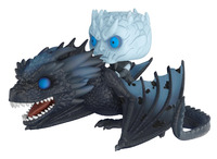 NEW hot 11cm 2pcs Night's King Game of Thrones Nights King Viserion Dragon action figure toys collector Christmas gift no box