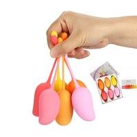 6pc/set Kegel Balls Smart love ball Silicone Clit Tighten Exercise Machine Vibrator Shrink Vaginal Ben Wa ball Sex toy for Woman