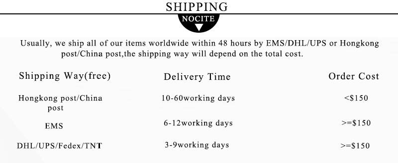 5New shipping