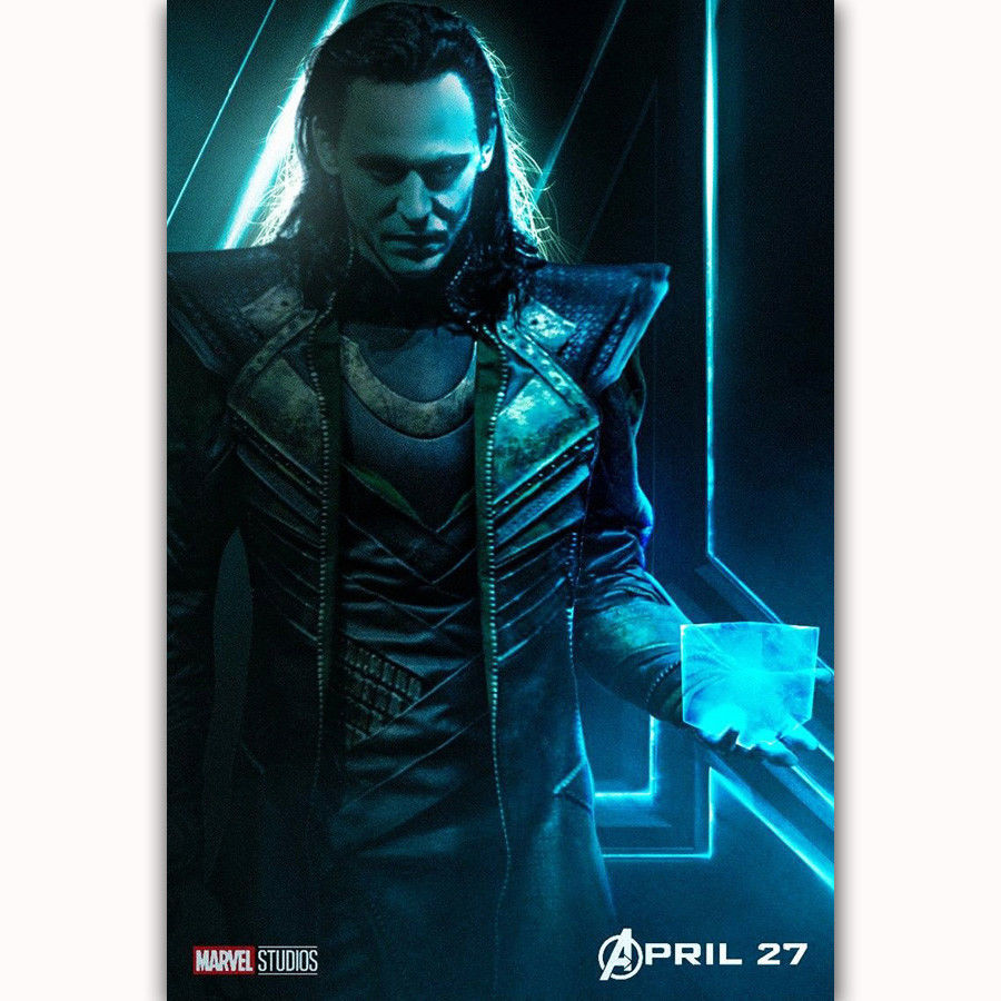 Art silk poster Avengers Infinity War New Movie Marvel Comics Fabric24x36 8x12
