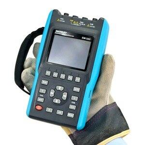 Image 4 - جهاز رسم ذبذبات 2in1 مع 2 قناة مع نطاق شاشة ملونة مقياس رقمي متعدد DMM مقياس EM1230 all sun