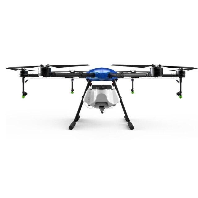 E616 de seis ejes 16 KG 16L de pulverización agrícola Dron 1630mm Base de ruedas plegable con marco X8 E5000 pro power sistema de