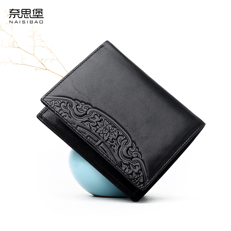 Chinese style Genuine Leather female short Wallet fashion pattern cards holders brand womens wallets and purses free shipping chinese style genuine leather women clutch wallet fashion pattern cards holders brand womens wallets and purses free shipping