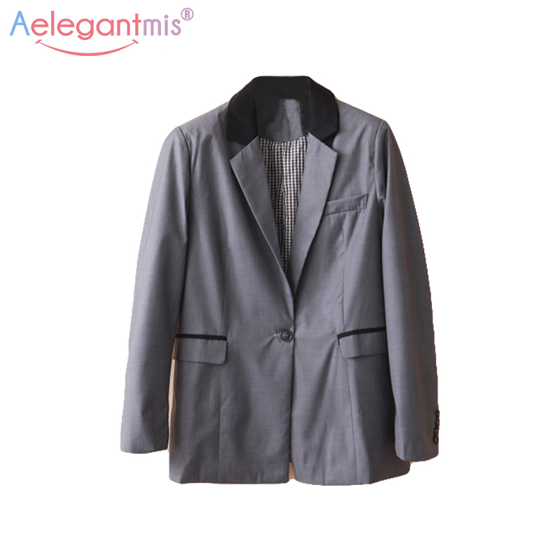 Online Get Cheap Grey Womens Blazer -Aliexpress.com | Alibaba Group