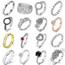 Новинка,, белые, цветные, 18 видов стилей, стекируемые, вечерние, на палец, для женщин, бренд, кольцо для женщин, обручальное, ювелирное изделие, подарки