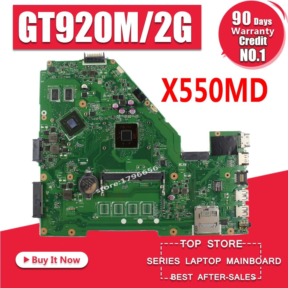 X550MD REV 2,0 GT920M 2 ГБ плата для ASUS X550M X552M Y582M X550MD X550MJ X552M материнской N2840 Процессор 2,167 ГГц