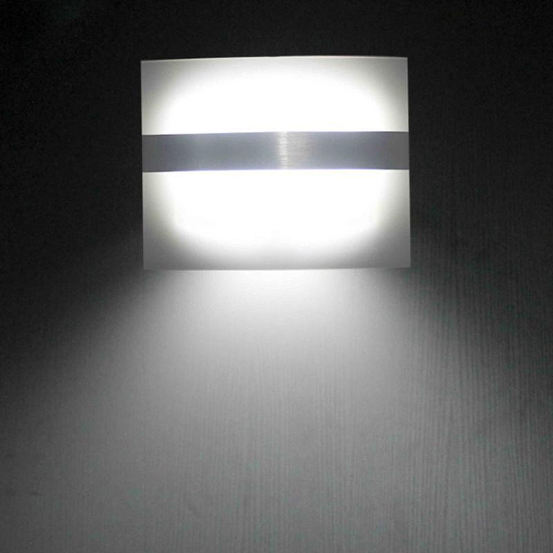 1.7W Motion Sensor Wall light Led night light Battery for Closet, Stairs, Basement Hallway Wall Cabinet luminarias цена