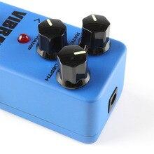FVB2 MINI Aluminum Alloy Vibrato Guitar Effect Pedal Guitarra Vibrato Pedal Vibrato Effects Similar To Tremolo True Bypass