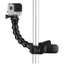 Action cameras accessories flexible monopod hose with clamp lightweight selfie stick for gopro hero 1 2 3 3+/4 Xiaoyi SJcam