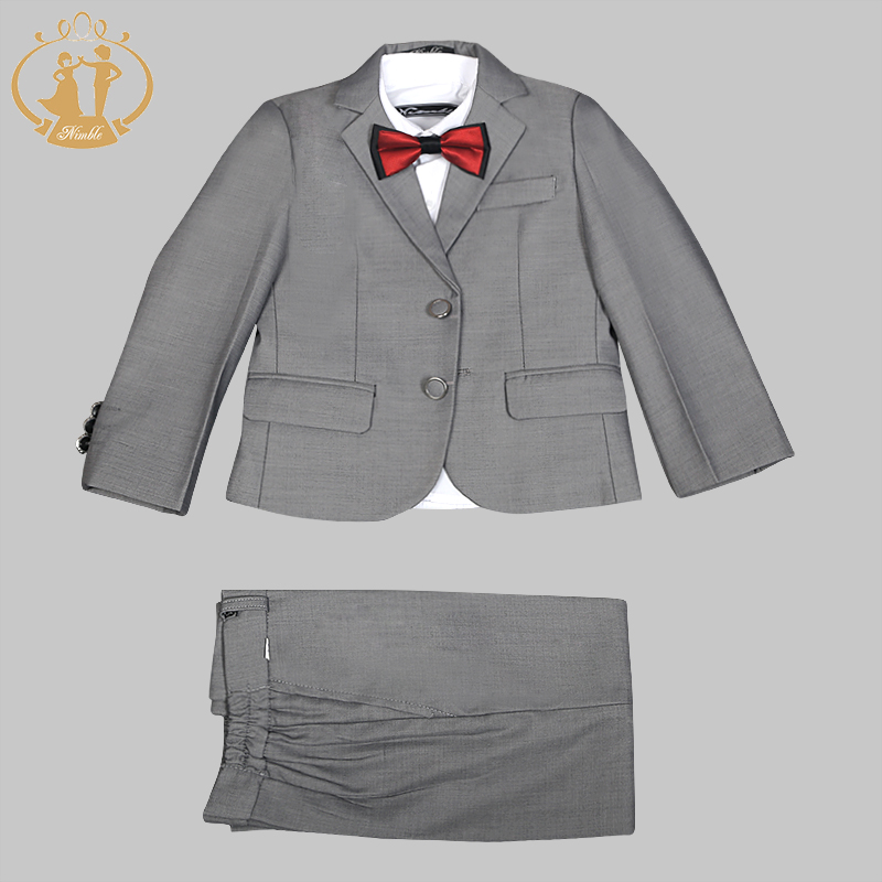 Nimble Boys Suits for Weddings Kids Prom Suits Wedding Suits Kids Blazers Boys Clothing Boy Suits Formal Terno Infantil 2018