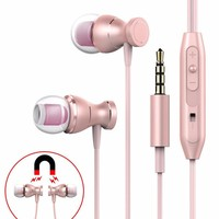 Professional Music Earphone With Mic For Wiko Wim Storm Wax Ufeel Tommy Sunset 2 Fone De