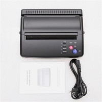 Tattoo Body Art 1Pcs A4 Black Tattoo Drawing Design Transfer Stencil Machine Thermal Maker Copier Printer Hectograph Supply