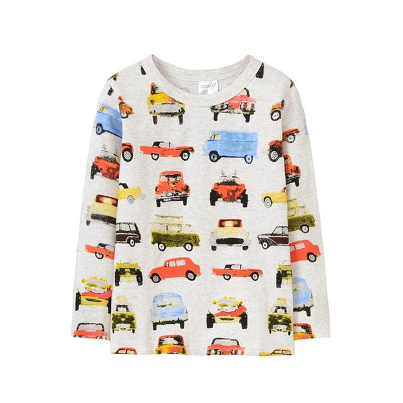 VIDMID Costume Short-Sleeve Boys t-Shirts Kids Cotton Children for Age of 18m--6t Good-Quality
