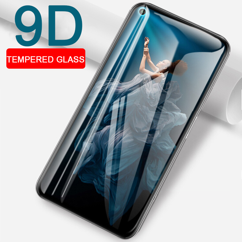 9D Protective Tempered Glass for Huawei Honor 20 Pro screen protector on the for Huawe Honor 10 Lite 10i 20i Honor10 Honor20 Pro(China)