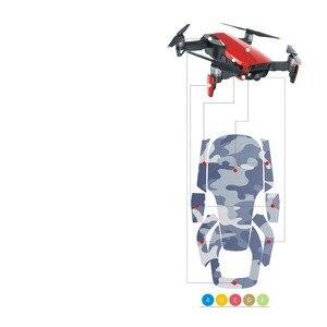 Image 5 - Masiken 12 색 방수 스티커 데칼 스킨 프로텍터 dji mavic 에어 드론 데칼 스티커 quadcopter 팬텀 액세서리