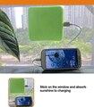 CE ROHS de Certificação FCC hot 2017 nova tecnologia segura solar power bank/janela carregador solar/carregador solar do telefone móvel carregador
