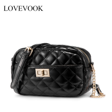 Lovevook women shoulder bags 2019 PU leather crossbody bag f