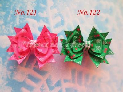 100 pcs BLESSING Good Girl Boutique 3.5Snowflake Hair accessories Bow Clip blessing and love big or retail a good gift for weddin new guaranteed 100