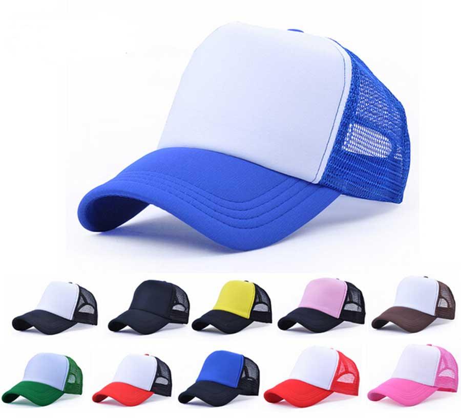 Wholesale 10pcs Lot Cheap Mens Plain Trucker Hats for Spring Summer Womens  Blank Mesh Snapback Caps Men Foam Net Snap Back Cap-in Baseball Caps from  Apparel ... 870917f17a0
