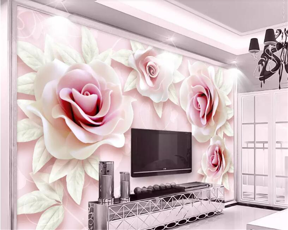 Top 10 Largest 3d Wallpaper Embossed Rose Brands And Get Free Shipping Lkfdl9bc