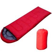 Открытый спальный мешок для кемпинга, теплый конверт с капюшоном, зимние спальные мешки для взрослых, дорожный спальный мешок