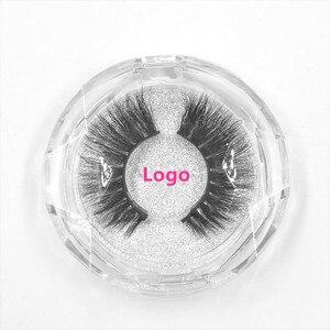 Image 5 - 50 個ミンクまつげ高級ナチュラルロングミンクつけまつげクロス厚い延長まつげ 18 スタイル無料のロゴ卸売