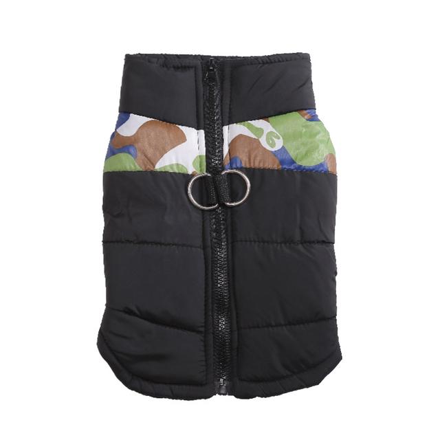 Warm Waterproof Pet Camouflage Jacket