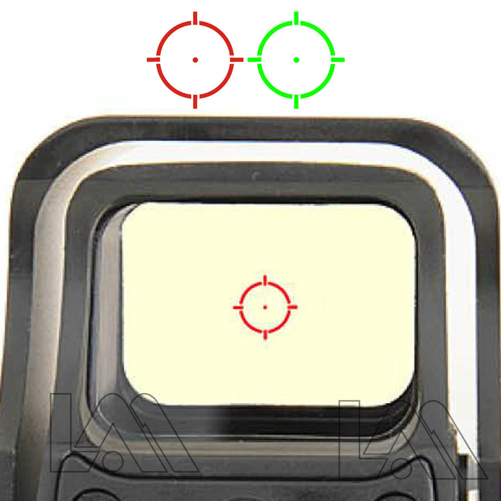 551 552 553 Merah Hijau Dot Holographic Sight Lingkup Berburu Red Dot Reflex Sight Riflescope dengan 20Mm Mount untuk airsoft Gun