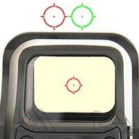 551 552 553 czerwona zielona kropka celownik holograficzny zakres polowanie czerwona kropka Reflex Sight luneta z 20mm uchwyt do Airsoft Gun w Lunety karabinowe od Sport i rozrywka na