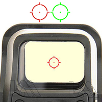 551 552 553 Red Green Dot Holographic Sight Scope Hunting Red Dot Reflex Sight Riflescope With 20mm Mount For Airsoft Gun