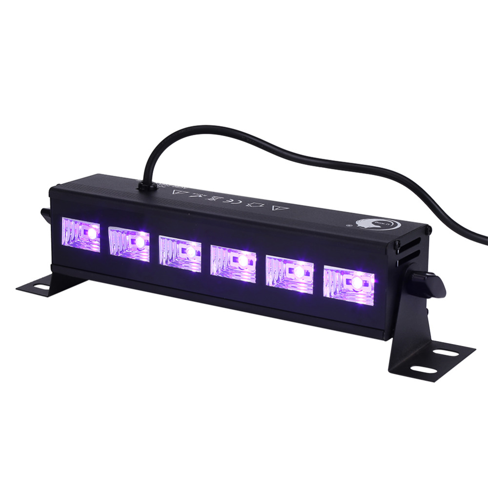 Hot Sale Stage Light Bar 6 * 3W LED Wall Wash Lighting for Disco DJ KTV Club Party EU Plug 220-240V