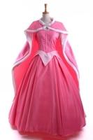 Спальный Красота Для женщин Аврора Косплей платье средневековой hofadel дворец платье длинная юбка платье ехал вечернее платье