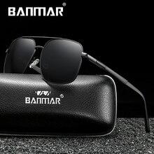 BANMAR Luxury Sunglasses Men Polarized Classic Sun glasses Fishing Accessories Driving Goggles Gafas De Sol Zonnebril Mannen