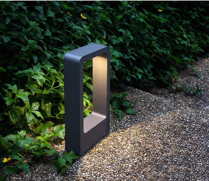 7W Garden Pathway Lighting in Die Casting Aluminum Body AC90 260V Worldwide Compatibility
