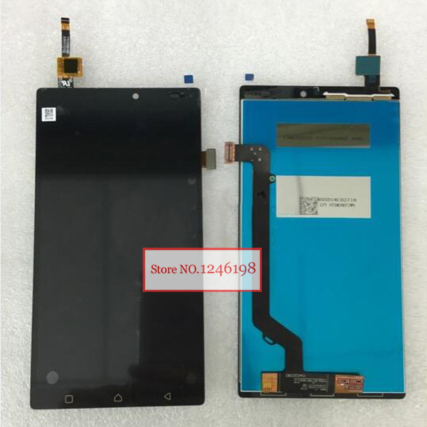 NEW Arrival Black LCD Display + Touch Screen Digitizer Assembly For Lenovo K4 Note A7010a48 A7010 Phone Replacement Parts