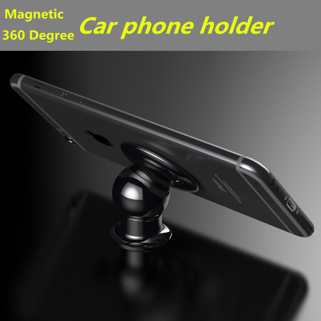 Luphie 360 Degree Magnetic Holder Car Phone Holder For iPhone 6 Plus iPhone 6S Support Stand